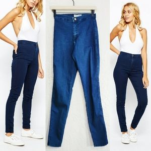 American Apparel The Easy High Rise Skinny Jean
